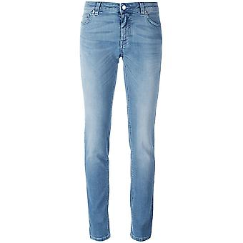 Givenchy women's 17Y5523611400 light blue cotton of jeans