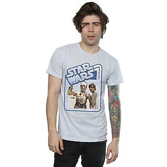 Star Wars Men's Luke Skywalker And C-3PO T-Shirt