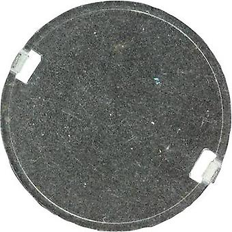 Protector lens Water clear, Diffused Transparent 10 °