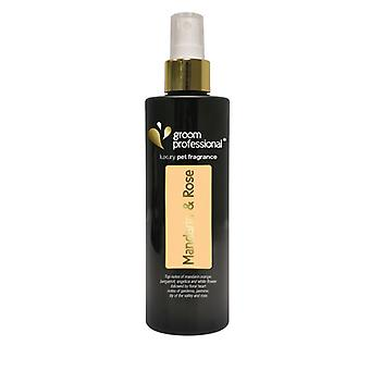 Groom Professional Exclusive Mandarin & Rose Fragrance 200ml