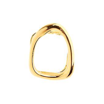 Single Zahn Hollow Grill - One size fits all Aufsatz gold