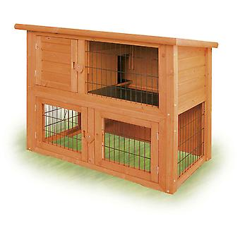 Ica Duplex Hut for Rabbits (Small pets , Cage Accessories , Maisonnettes et Tunnels)