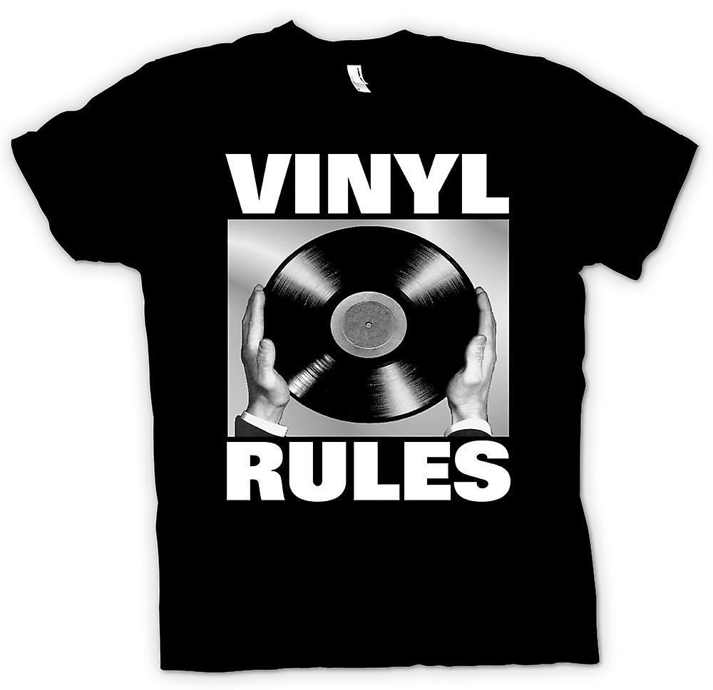 Kids T-shirt - Vinyl Rules - DJ Mixing