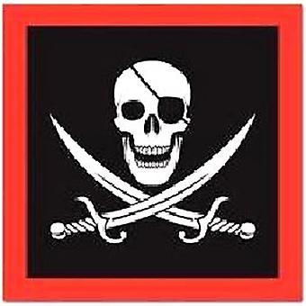 Servilletas pirata