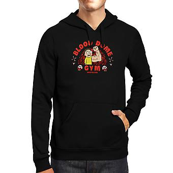 Blood Dome Gym Rick And Morty Men's Hooded Sweatshirt