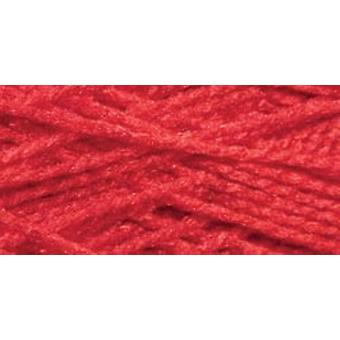 Needloft Craft Yarn 20yd-Christmas Red