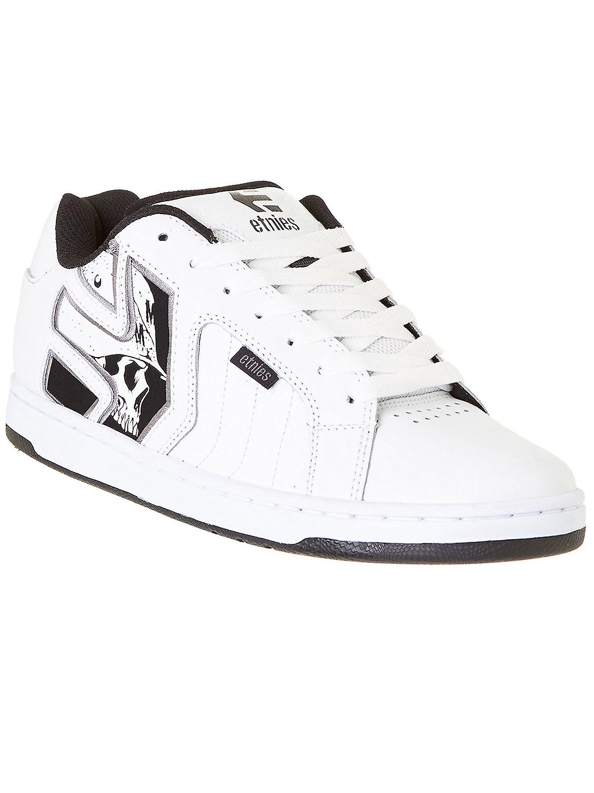Etnies Mulisha Metal Mulisha Etnies White-Black-Grey Fader 2 Shoe 4b4d1f