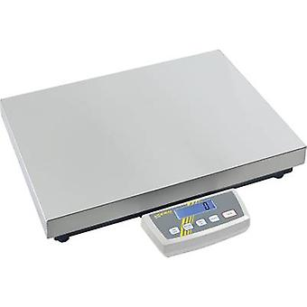 Kern Platform scales Weight range 300 kg Readability 5 g, 10 g mains-powered, battery-powered, rechargeable Silver
