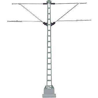 H0 Twin track cantilever mast H0 Märklin C (incl. track bed), H0 Märklin K (w/o track bed) Märklin 74105 1 pc(s)
