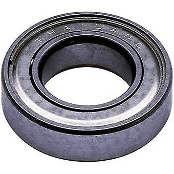 Reely Radial ball bearing Stainless steel Inside diameter: 10 mm Outside diameter: 19 mm Rotational speed (max.): 41000