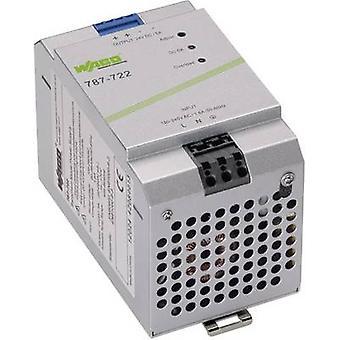 WAGO EPSITRON® ECO POWER 787-722 Rail mounted PSU (DIN) 24 Vdc 5 A 120 W 1 x