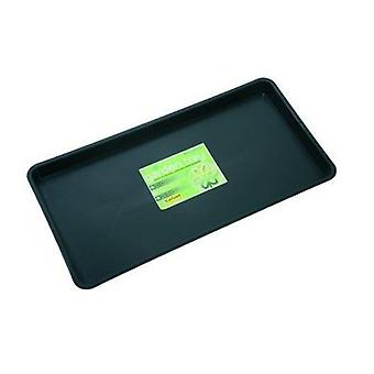 Maxi Garden Tray Black Plastic Grow Potting