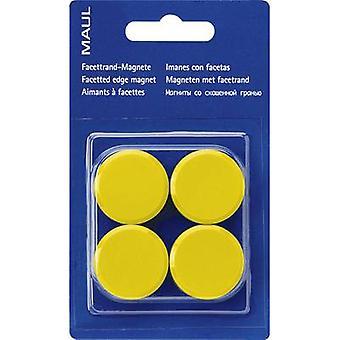Maul Magnet MAULpro (Ø x H) 30 mm x 10 mm round, Facet edge