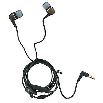 OEM Verizon iDigi Ecoustic ECO DOG 3.5mm Headset with Mic - Universal 3.5mm Stereo headset
