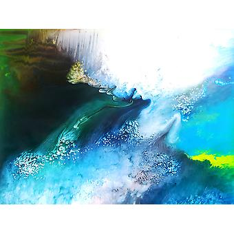 ABSTRACT oil painting, 90x120 cm hand painted 003318080875666