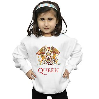 Queen Girls Crest Logo Sweatshirt