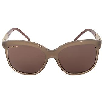 Bvlgari-Platz Sonnenbrille BV8155 534973 57 | Opal grau Frame | Graue Linsen