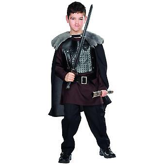 Wolfskrieger Kostüm Kinder Karneval Wikinger Barbare Krieger Ritter Mittelalter