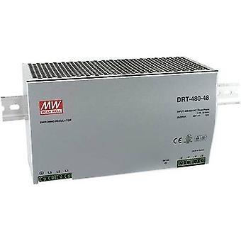Mean Well DRT-480-24 Rail mounted PSU (DIN) 24 Vdc 20 A 480 W 1 x