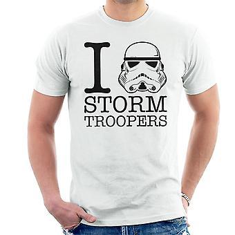 Original Stormtrooper I Heart Troopers Herren T-Shirt