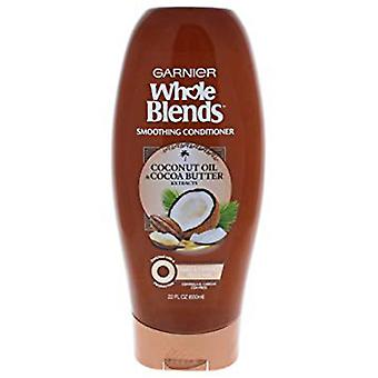 Garnier Whole Blends Smoothing Conditioner, Coconut Oil & Shea Butter, 650ml