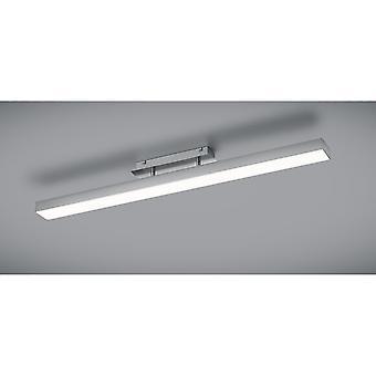 Trio Lighting Agano Modern Nickel Matt Aluminium Ceiling Lamp