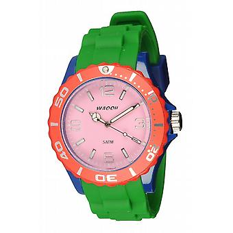 Waooh - Watch MC42 Multicolor Pink Blue & Red