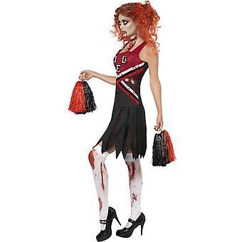 High School Horror Cheerleader Costume, UK Dress 12-14