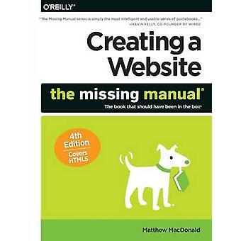 Erstellen einer Website von Matthew MacDonald - 9781491918074 Buch