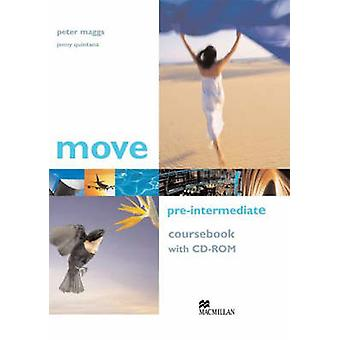 Move Pre-Intermediate - Coursebook with CD-ROM by Pete Maggs - Jenny Q