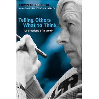 Contarles a otros lo que pensar: recuerdos de un experto (Politics@Media)