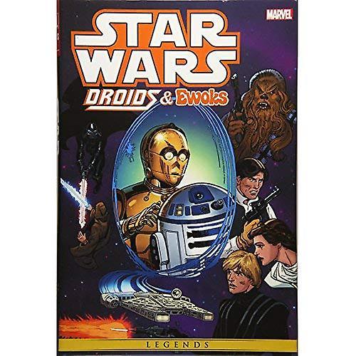 Star Wars Droids And Ewoks Omnibus HC Droids Cvr (Star Wars  Legends)