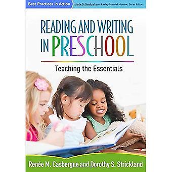 Läsa och skriva i förskolan: undervisning nödvändigaste (metodtips i aktion)
