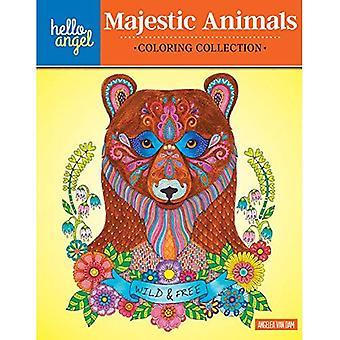 Hallo Angel Majestic dieren kleuren collectie