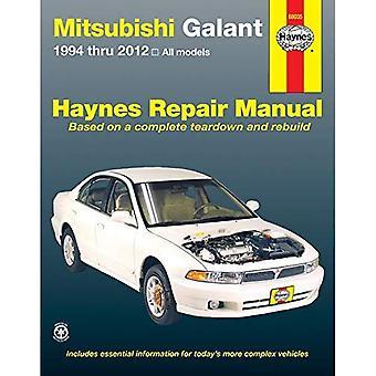 Mitsubishi Galant Automotive Repair Manual 1994-2012 (Haynes Automotive Repair Manuals)