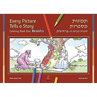 Ogni immagine racconta una storia, Bereishis Volume 1, libro da colorare
