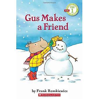 Gus Makes a Friend: Scholastic Reader Pre-Level 1 (Scholastic Reader - Level Pre1