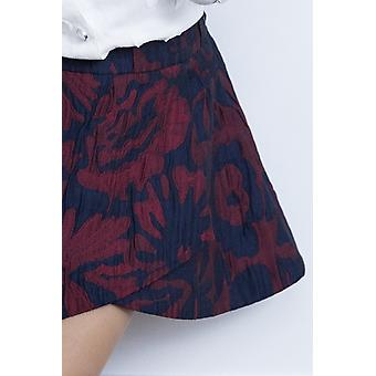 Jacquard girl skirt