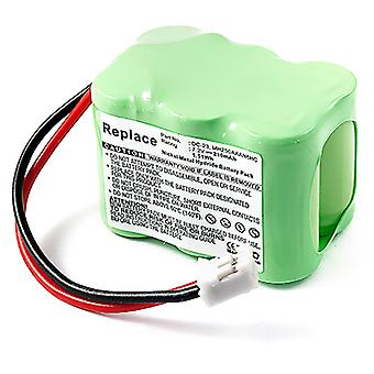 Replacement Battery for SportDOG SD-800 SD800 Transmitter DC-23 Kinetic MH250AAAN6HC ST-120 ST-120W