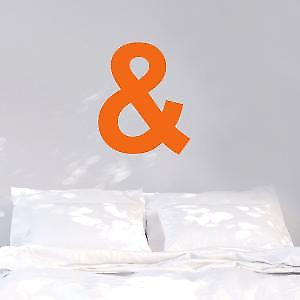 Neon ampersand Wall Sticker