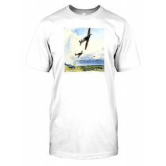 Spitfire arte imagen para hombre camiseta