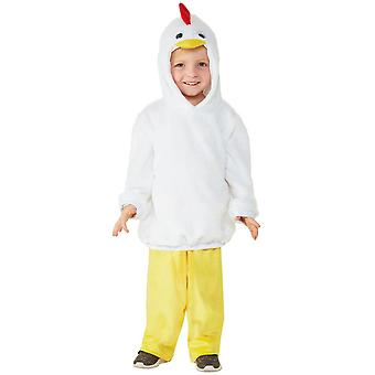 Toddlers Cute Chicken Fancy Dress Costume