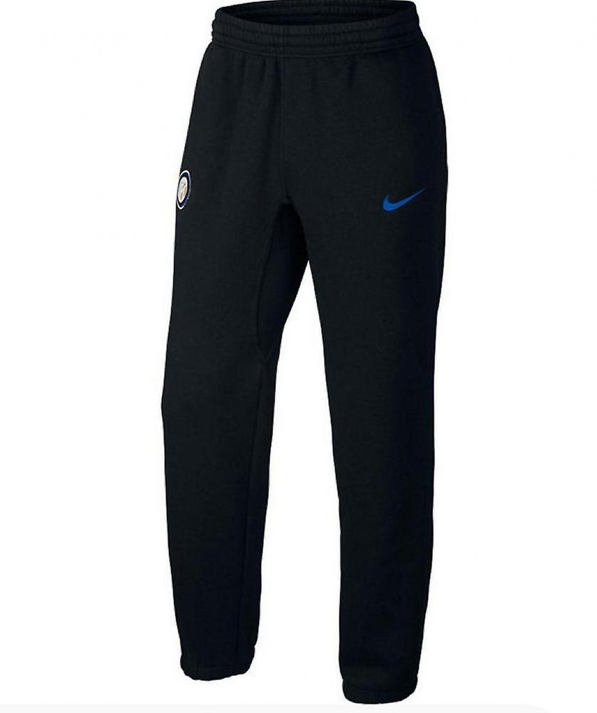 2015-2016 Inter Milan Nike Core Fleece Cuff Pants (Black)