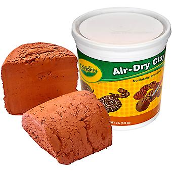 Crayola Air-Dry Clay 5lb-Terra Cotta