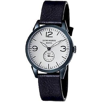 Zeno-Watch Herrenuhr Vintage Line Small Second blue 4772Q-bl-i3