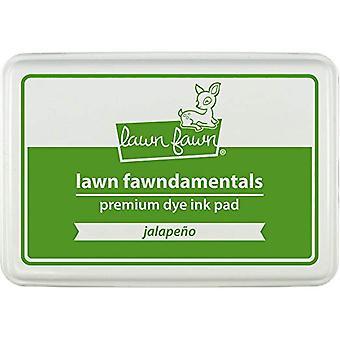 Lawn Fawn Premium Dye Ink Pad Jalapeno (LF1084)