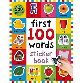 First 100 Words Sticker Book by Roger Priddy - 9780312518998 Book