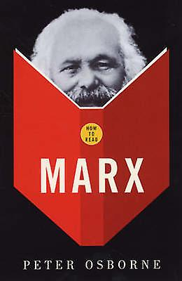 How to Read Marx by Peter Osborne - 9781862077713 Book