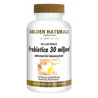 Golden Naturals Probiotics 30 billion 30 caps.