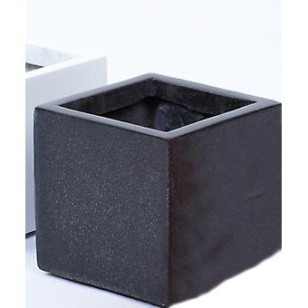 Fibreglass Black Granite Planter